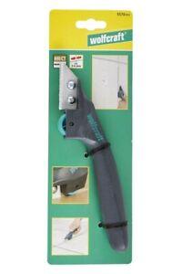 Wolfcraft Fugenkratzer mit Rollenführung für Fliesen-, Mörtelfugen von 2-6 mm