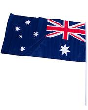 Australiana 90 X 45cm Flag On Pole One Size