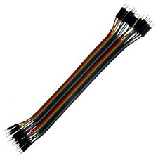 20 pin Dupont Male to Male Jumper 20 cm Ribbon Cable Breadboard Arduino ARM C509