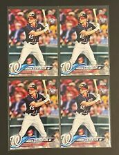 Andrew Stevenson 2018 Topps #261 NATIONALS ROOKIE RC Card Lot of 4