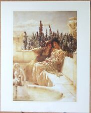 """Whispering Noon"" - Sir Lawrence Alma Tadema (1836 - 1912)"