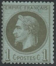 """FRANCE  STAMP TIMBRE N° 25 """" NAPOLEON  III 1c BRONZE 1870 """" NEUF xx TB A VOIR !"""