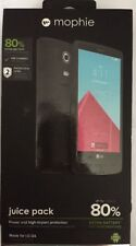 mophie juice pack Battery Case For LG G4 (3,450mAh) - Black