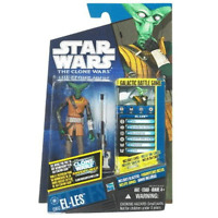 Star Wars bounty hunter  EL-LES The Clone Wars Action Figure