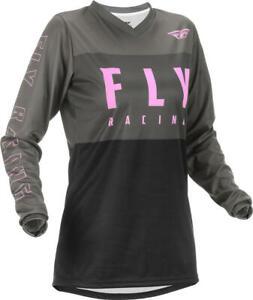 2022 Fly Racing Women's F-16 Motocross Jersey Aqua Teal Pink ATV Dirt Bike SXS