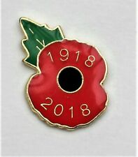 Poppy D-Day 75 badge butterfly clasp 75th anniversary 6 June 1944 to 2019