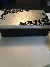 Wooden Storage Box Case Organizer