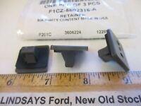 """3 NEW PIECES FORD 2001/2012 ESCAPE """"RETAINER"""" [COWL COVER CLIP] F1CZ-5802316-A"""