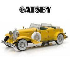 Modello DieCast Auto DUESENBERG II SJ Film IL GRANDE GATSBY 1/18 Model DieCast