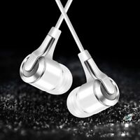 3.5mm HiFi Bass In-ear Wired Phone Earphone Sports Earbuds Headset with Mic