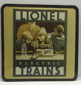 """Lionel Trains Rare Dealer Advertising Sign 17"""" Square - sign only no light incl."""