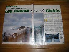 ESSAI CONTACT......... JAGUAR S - TYPE 3.0 V6 et 4.0 V8