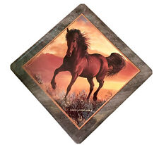 Limited Edition Persos Weirs Horse Collection Tile Plate In Box W/ Certificate