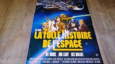 LA FOLLE HISTOIRE DE L'ESPACE ! mel brooks affiche cinema