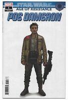 Star Wars AOR Poe Dameron #1 2019 Unread Concept Design Variant Marvel Comics