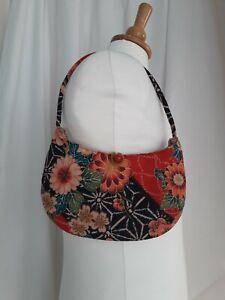 Vintage Small Kitsch Handbag Floral Design