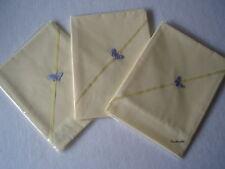 Baby bedding One Handmade Polyester Cotton Yellow Flat sheet-crib/pram/moses