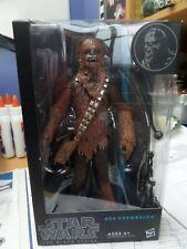 Star Wars Black Series #04 Chewbacca Blue Line 2014 *NEW, MINT, SEALED*