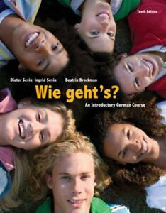 Wie geht's? An Introductory German Course by Sevin, Dieter  210504