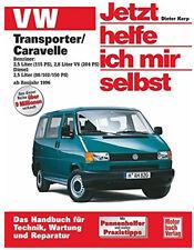 VW T4 BUS TRANSPORTER CARAVELLE JETZT HELFE ICH MIR SELBST REPARATURHANDBUCH 227