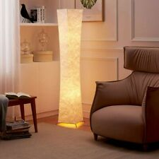 Warm White Modern Standard Lamp Fabric Lighting Floor Lamps Living Room Bedroom
