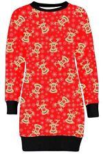 Vestidos de mujer de color principal rojo talla M de poliéster