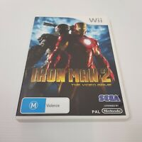 IRON MAN 2 (Nintendo Wii) PAL Video Game - Complete