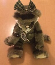 """Ganz Cottage Collectibles Gray Cat Named Tabitha 13"""""""