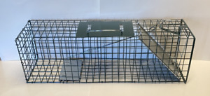 """Cage Live Trap 24""""x7""""x7"""" Trapping rabbit, Squirrel, chipmunks, rats NEW SALE"""