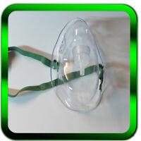 Sauerstoffmaske für Erwachsene 2 x  | ohne Sauerstoffschlauch | mittlere
