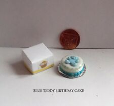 DOLLS HOUSE FOOD MINIATURE CELEBRATION/ BIRTHDAY CAKE PACK