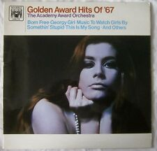 ACADEMY AWARD ORCHESTRA Golden Award Hits Of '67 vinyl LP