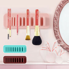 Toothbrush Cosmetic Makeup Brush Holder Organizer Air Drying Storage Rack