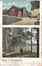 Gruß aus Pechtelsgrün Vogtland Restaurant Zur Sonne Postkarte