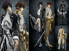 2pcs Code Geass Lelouch of the Robellion R2 Suzaku Knight of Seven Figurine 23cm