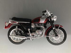 Maisto Triumph Motorcycle Red Maroon
