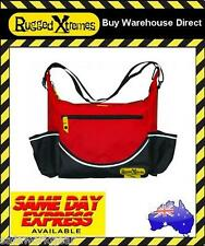 Rugged Xtremes Red PVC Insulated Crib Lunch Bag Waterproof Extremes