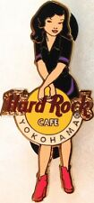 Hard Rock Cafe YOKOHAMA 2004 GIRL of ROCK Series PIN GOR #2 Black Uniform #21189