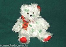 Christmas Ty Punkies - Lil' Santa Claws the Teddy Bear Retired New!