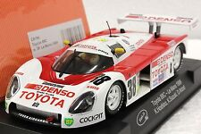 SLOT IT SICA19C TOYOTA 88C DENSO LE MANS 1989 NEW 1/32 SLOT CAR IN DISPLAY CASE