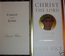 SIGNED! Anne Rice 'Christ the Lord: Out of Egypt' 1/1