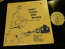 THEY SANG THE BLUES 1927-1929 JOHN HURT Willie Reed BOBBY BAKER Freddie Spruell