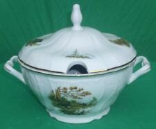 WILDLIFE *RABBIT OR HARE BERNADOTTE *COVERED SOUP TUREEN *IMPORTED CZECH CHINA
