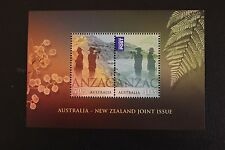 2015 ANZAC CENTENARY AUSTRALIA / NEW ZEALAND JOINT ISSUE MINI SHEET