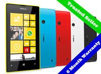 •ORIGINAL• 8GB Nokia Lumia 520 Windows Smartphone | Unlocked | 6 Month Warranty