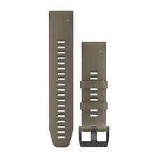 Garmin 010-12740-05 Quickfit 22 Watch Band Coyote Tan Silicone Fenix 5/5 Plus