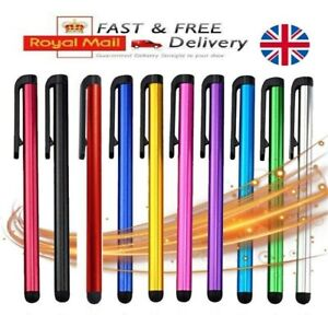 5x Universal Touch Screen Stylus Pen All Smartphone Tablet iPhone iPad Samsung.