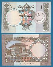 Pakistan 1 Rupee P 26 a ND 1983 UNC With Pin Holes! Low Ship Combine FREE P-26a