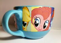 MY LITTLE PONY Coffee Cup Soup Mug 24 fl oz Large Blue Ceramic 2013