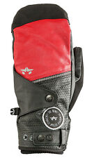 New With Tags 2015 Rome Mens Bowery Snowboard Mitts Large Black Red